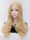 blonds perruques cosplay harajuku vague de chaleur resistant perruque de cheveux synthetiques
