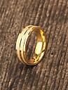 bijoux cadeau personnalise en acier inoxydable plaque or grave les anneaux des hommes