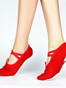 Scarpe da ballo Donna / Bambino - Balletto - Senza tacco/Ballerina - Tela - Rosa