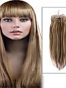 1pc / lot 22inch / 55cm 100s / pack 0,5 g / s multicolors rakt micro ringen hårförlängning grade5a människohår förlängning