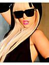 lady gaga perruque longue raides mode blonds femmes perruques