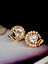 """""""New Arrival Hot Selling High Quality Round Crystal Earrings"""""""