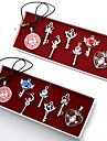 Bijoux Inspire par Sailor Moon Sailor Moon Anime Accessoires de Cosplay Colliers Rouge / Bleu Alliage Feminin