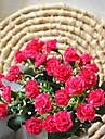 Polyester Lila Konstgjorda blommor