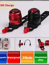 Cykellyktor / Baklykta till cykel / säkerhetslampor LED - Cykelsport Laddningsbar Övrigt 80 Lumen USB Cykling / motocycle-XIE SHENG