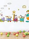 autocolante de perete de perete decalcomanii stil de desene animate de protecție a mediului autocolante de perete pvc