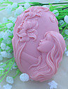 vackra faery tvål mögel fondant tårta choklad silikon mögel, dekoration verktyg bakeware
