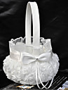 Flower Basket Satin Asian Theme/Classic Theme With Ribbons/Bow/Rhinestones