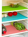 4-bit antibakteriell kylskåp liner matta cut-mått skåp låda pad (ramdon färg)