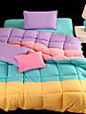 yuxin®spring täcke kärna fyra spell färg tjock supermjuk fjäder sammet vinter täcke för kung / drottning / full storlek