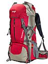 50 L Backpacker-ryggsäckar Camping Klättring Utomhus Öva Vattentät Regnsäker Multifunktionell BärbarRöd Svart Blå Ljusgrön Orange
