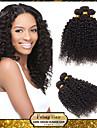 billiga rosa hårprodukter 6a obearbetat peruanska jungfru hår kinky lockigt 1bundle / lot 100% människohår