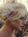 handgjorda bröllops fjäder hår klipp fascinator stycken Fascinators 027