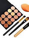 15 Correcteur/ContourPinceaux de Maquillage Visage