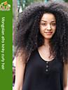 afro perruques frisees vierge avant de dentelle de cheveux perruques de cheveux crepus mongoles mongoles humains pour les femmes noires