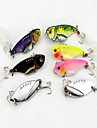 Hengjia Mixed Hard Baits 11g Metal VIB Fishing Lures Set (7pcs)