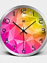Horloge murale - Rond/Nouveaute - Moderne/Contemporain - en Verre/Metal