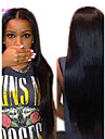 """8""""-26"""" Brazilian Virgin Hair Straight Glueless Lace Wig Lace Front Wig With Baby Hair for Black Women"""