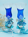 Double Glass Cups Candle Set