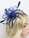 Women\'s Feather/Net Headpiece - Wedding/Party Fascinators 1 Piece