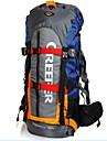 60 L Backpacker-ryggsäckar / Ryggsäckar till dagsturer / Cykling Ryggsäck / Ryggsäck Camping / Klättring / Resa UtomhusVattentät /