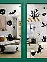 autocolante usi stil decalcomanii ușa autocolante usi de Halloween geam decorare pvc