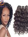 1st / lot 10inch brasilianska jungfru hår vatten våg svart färg 100% människohår obearbetat människohår väver