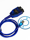 KKL VAG-COM 409.1 OBD2 USB Cable Auto Scanner Diagnostic Tool for Audi VW SEAT - Blue