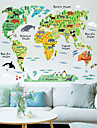 Animaux / Bande dessinee / Paysage Stickers muraux Stickers avion , PVC 60*90 cm (23.6*35.4 inch)