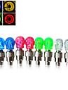 Lumiere frontale / Eclairage pour roues de velo / Capots de feux clignotants LED - Cyclisme Transport Facile AG10 50LM Lumens Batterie