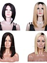 Premierwigs 8A 8\'\'-28\'\' Bob Straight Collection Brazilian Virgin Silk Top Base Full Lace Human Hair Wigs Lace Front Wigs