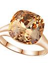 Inele Afirmatoare Cristal imitație de diamant Aliaj La modă bijuterii de lux Rosu Maro deschis Bijuterii Nuntă Petrecere 1 buc