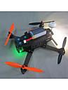 Drone Sextant L250-1 6Canaux 3 Axes 2.4G Avec Camera HD 720P Quadrirotor RC FPV / Avec Camera Noir