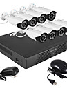 8CH HDMI 960H Network DVR 700TVL Outdoor Day/Night Security Camera System