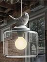 Retro LED Metallo Luci Pendenti Salotto / Camera da letto / Camera dei bambini / Ingresso