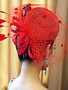 lady\'s Top Hat Fascinators Lace Veil for Wedding Party Hair Jewelry