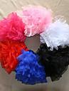 Slips Ball Gown Slip Short-Length 4 Tulle TUTU White / Black / Red / Blue / Pink