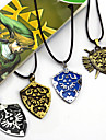 Bijoux Inspire par The Legend of Zelda Cosplay Anime/Jeux Video Accessoires de Cosplay Colliers Noir / Jaune / Bleu / Dore Alliage