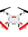 WL leksaker V686G Drönare 6 Axel 4 Kanaler 5.8G Radiostyrd quadcopterRetur Med Enkel Knapptryckning / Felsäker / Headless-läge /
