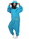 Kigurumi Pyjamas Sesam / Monster Leotard/Onesie Halloween Animal Sovplagg Vit Enfärgat Polar Fleece Kigurumi Unisex Halloween