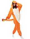 kigurumi Pyjamas Dragon Collant/Combinaison Fete / Celebration Pyjamas Animale Halloween Bleu Mosaique Polaire Kigurumi Pour Unisexe