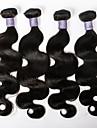 klass 7a malaysiska jungfru hår förkroppsligar vinkar dubbel wefts 4st / lot malaysianen virgin hår bunt behandlar obearbetat hår