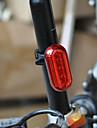 Cykellyktor Lyktor & Tältlampor Baklykta till cykel säkerhetslampor LED - Cykelsport Stöttålig Enkel att bära AAA 400 Lumen Batteri Röd