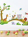 Animals / Cartoon / Still Life Wall Stickers Plane Wall Stickers , PVC 60cm*90cm