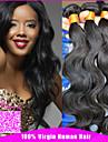 brasilianska jungfru hår 3 buntar mycket brasiliansk förkroppsligar vinkar brasiliansk människohår väver 6a brasilianskt jungfruligt hår