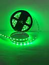 diode emettrice de lumiere a mene la lumiere bande 3528SMD 300LED / IP65 vert clair / bleu clair DC12V 5m / lot impermeable a l\'eau