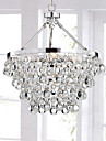 MAX:60W Chandelier ,  Traditional/Classic Chrome Feature for Crystal MetalLiving Room / Bedroom / Dining Room / Study Room/Office / Entry