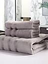 Badhandduk set - 100% Bambufiber - Färgat garn - towel:34*76cm   Bath towel:70*140cm