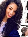 שיער מתולתל גדול ברזילאי בתולה אנושי פאות פאות תחרה מלאה פאות glueless בסיס משי פאות glueless תחרה מול לנשים