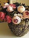Gren Silke Pioner Bordsblomma Konstgjorda blommor
